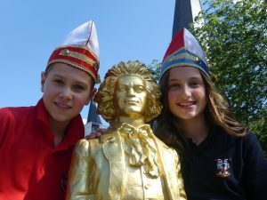 Kinderprinz Leo I. (Remmy) & Kinderbonna Janina I. (van der Roest)